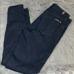 7 for all Mankind skinny jeans 30